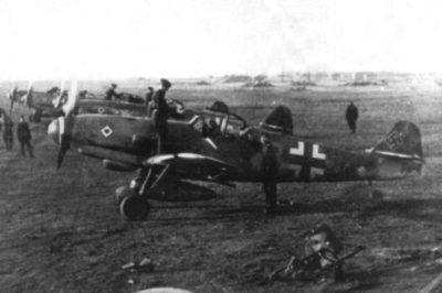 Messerschmitt Bf.109K-4 W.Nr 330176 11./JG77 Neuruppin Германия ноябрь 1944 года