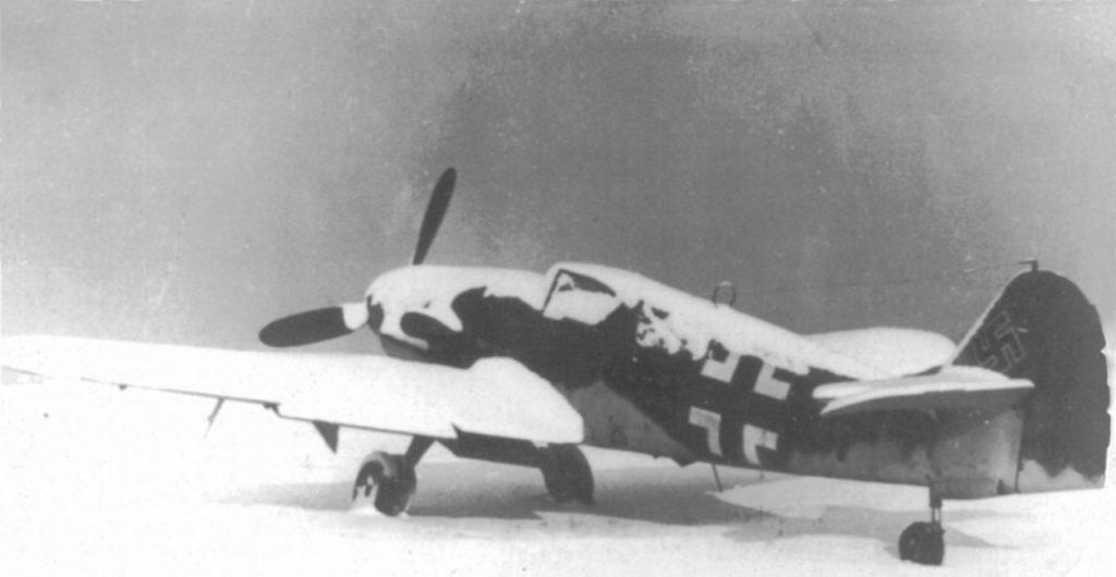 Messerschmitt Bf.109 K-4 W.Nr 332761 Германия январь 1945 года