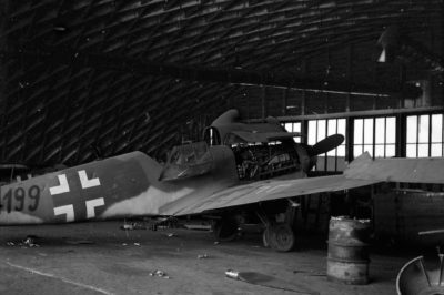 Messerschmitt Bf.109 K-4 W.Nr 334199, апрель 1945 года