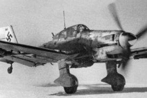 Junkers Ju.87D-3 7./StG1 зима 1942-1943 г