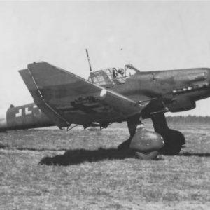 Junkers Ju.87D-5 S7+JH Fw. Oswald Godo SG3 Immola Финляндия, 2 июля 1944 года