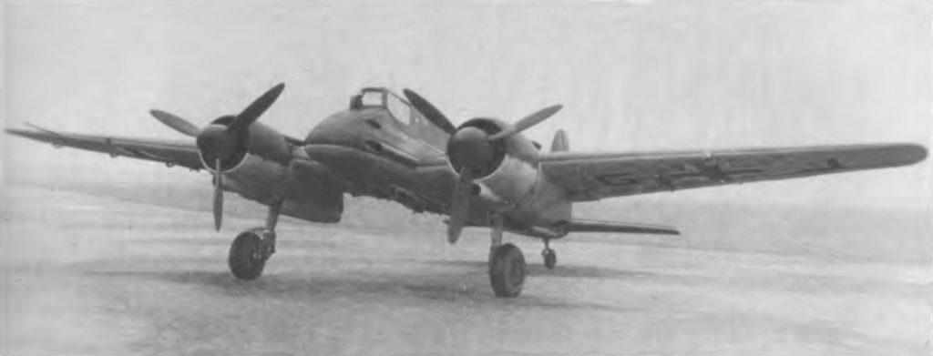 Henschel Hs.129 B-1 W.Nr 0152 один из первых серийных Hs.129B