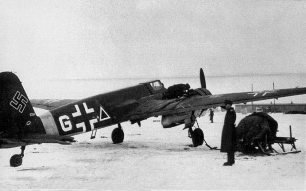 Henschel Hs.129 B-2 W.Nr 0366 4.(Pz.)/Sch.G.1 конец 1943 года
