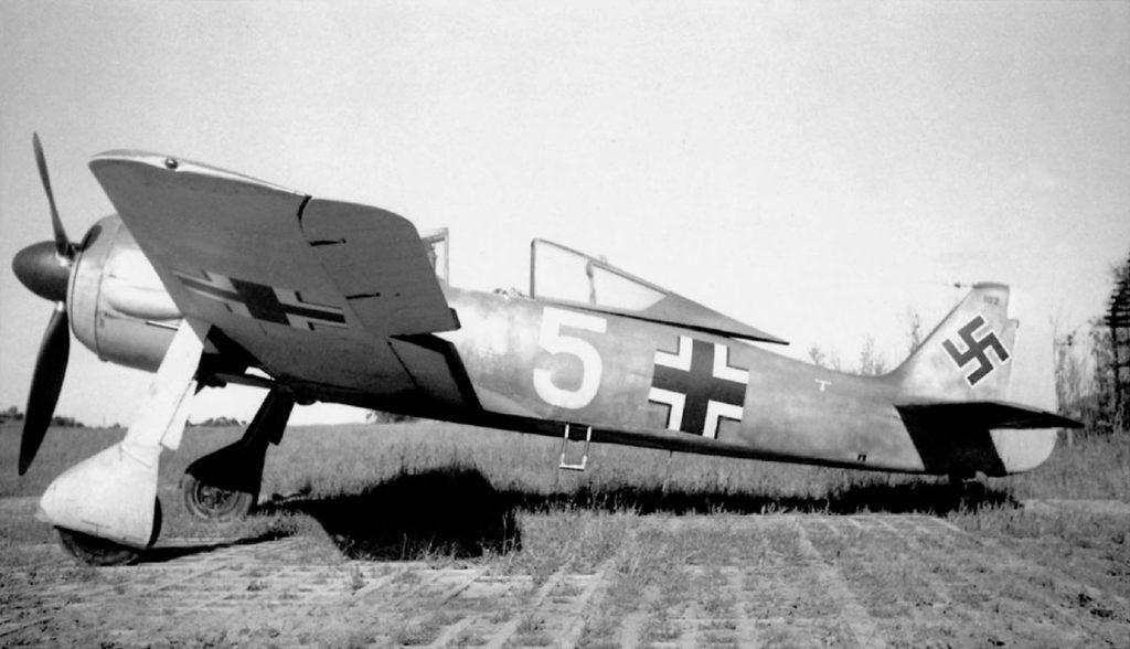 Focke-Wulf Fw.190 A-3 1./JG5 Herdla Норвегия 1942