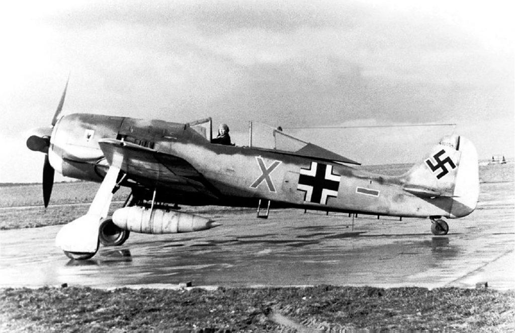 Focke-Wulf Fw.190 A-5 W.Nr 410054 Oberst Walter Grabmann 3. Jagddivision Deelen 1944 г