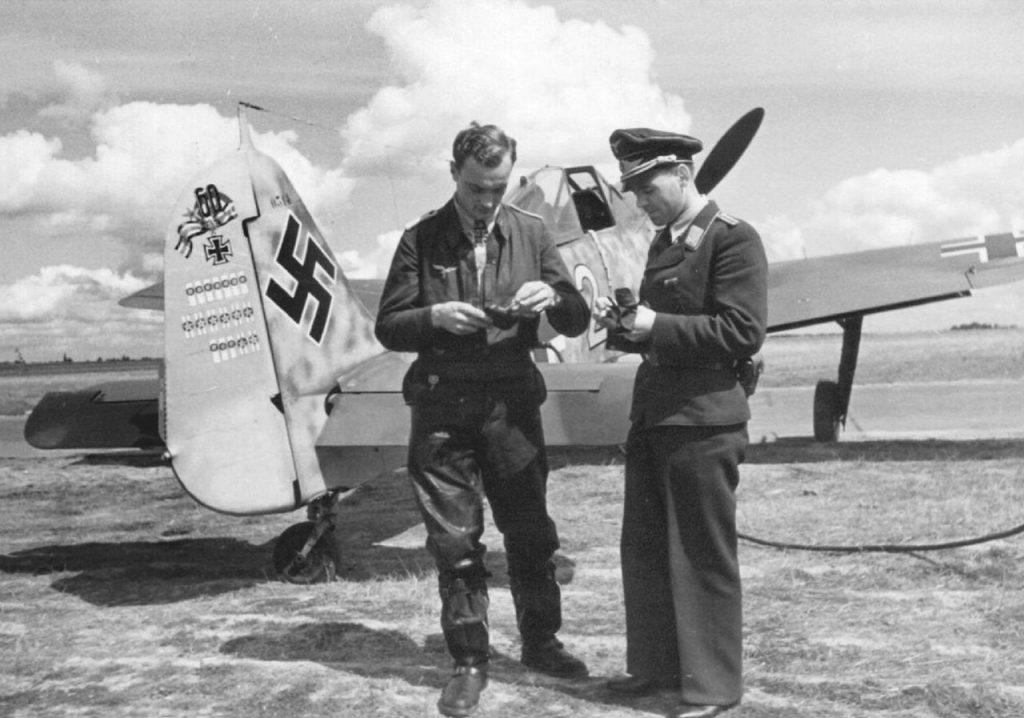 """Focke-Wulf Fw.190 A-6 W.Nr 530314 Oblt. Josef """"Sepp"""" Wurmheller 9./JG2 август 1943 г"""