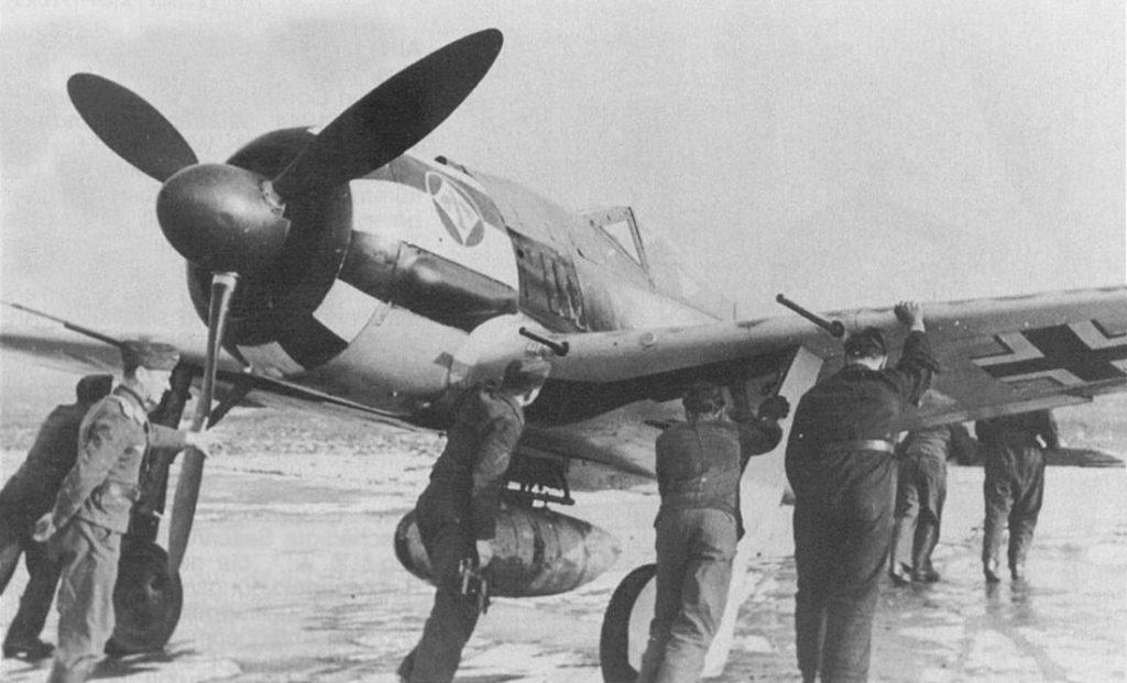 Focke-Wulf Fw.190 A-7 I/JG1
