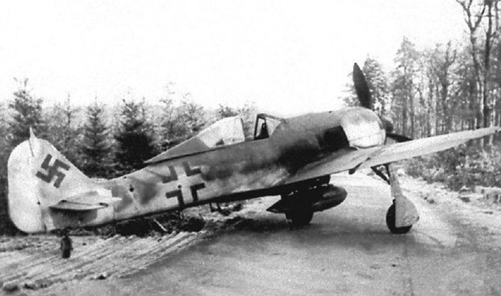 Focke-Wulf Fw.190 A-9 II(Sturm)/JG4 начало 1945 г