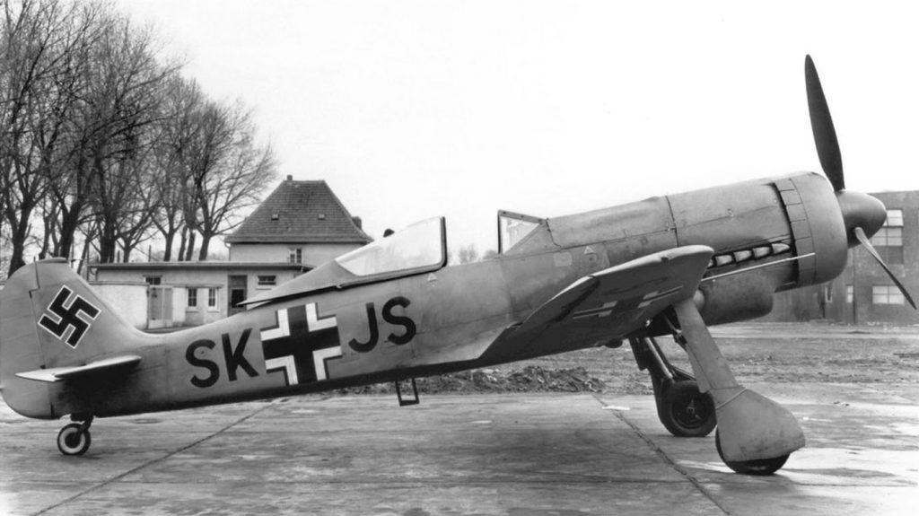 Focke-Wulf Fw.190 V13 W.Nr 0036 SK+JC прототип Fw.190C