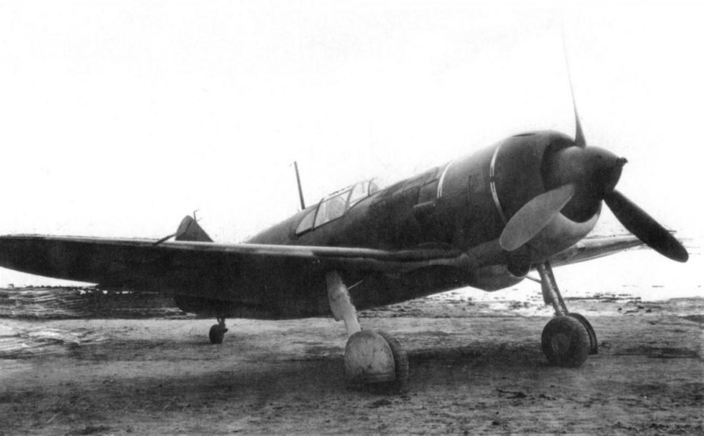 ЛаГГ-3 М-82 на совместных испытаниях НКАП и ВВС 1942 год