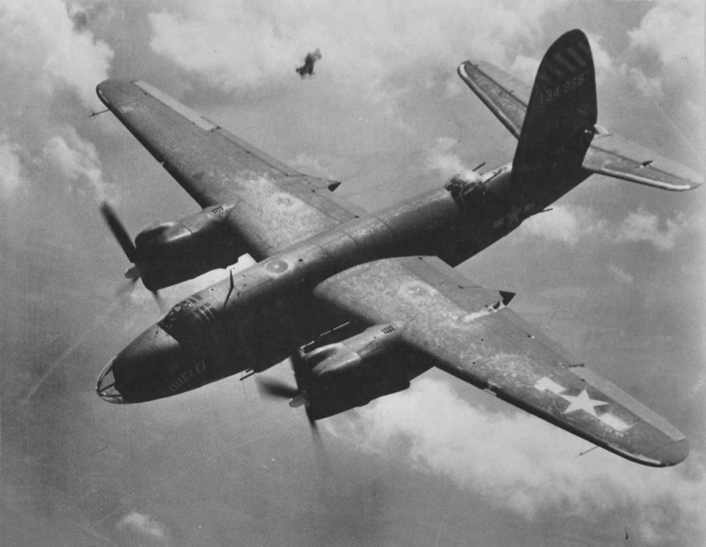 """Martin B-26C-15-MO Marauder s/n 41-34968 """"Lorelei"""" 558BS 387BG 9AF"""
