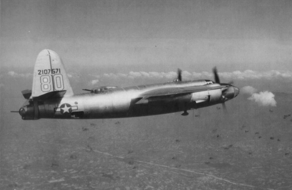 "Martin B-26C-45-MO Marauder s/n 42-107571 ""Shatters Proof"" 444BS 320BG 12AF"