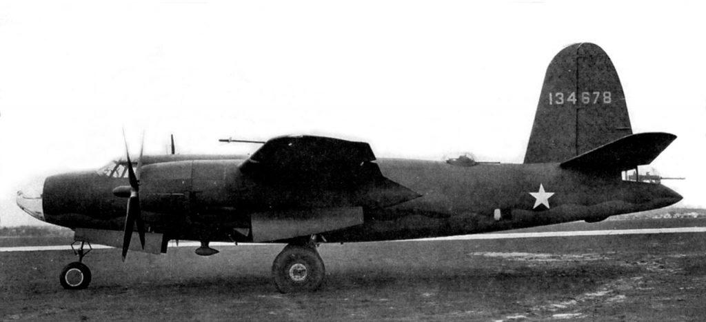 Martin B-26C-5-MO s/n 41-34678 один из первых серийных B-26C