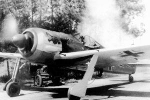 Focke-Wulf Fw.190 A-4 5./JG1 Woensdrecht июнь 1943 года