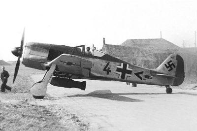 Focke-Wulf Fw.190 A-5/U4 10.(Jabo)/JG26 Saint-Omer Wizemes