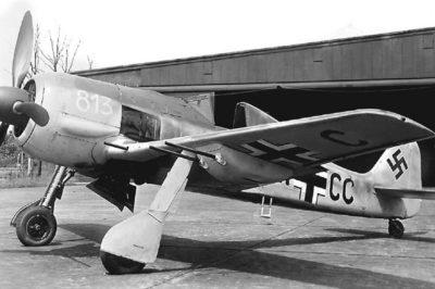 Focke-Wulf Fw.190 A-5/U12 W.Nr 813 BH+CC с пушками WB 151/20 был основой для Fw-190 A-6/R1