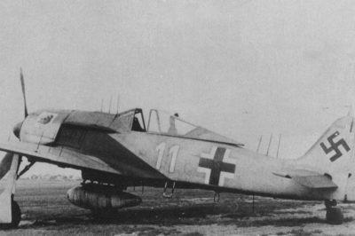 """Focke-Wulf Fw.190 A-6/R11 W.Nr 550143 Oblt. Fritz Krause 1./NJGr10 """"Wilde Sau"""" радар FuG 217 """"Neptun"""" 1944 год"""
