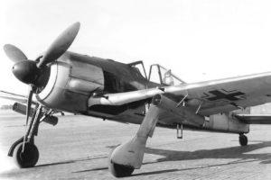 Focke-Wulf Fw.190 A-4/R6 ракеты WGr 21 лето 1943 года