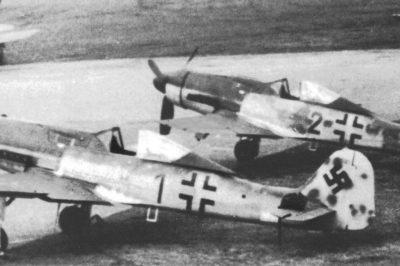 Focke-Wulf Fw.190 D-9 IV/JG3 Prenzlau 1945 год