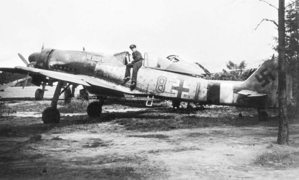 Focke-Wulf Fw.190 D-9 W.Nr 600175 11./JG26 Faßberg апрель 1945 года