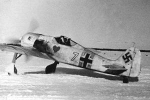 Focke-Wulf Fw.190 A-4 1./JG54 Красногвардейск начало 1943 года