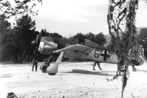 Focke-Wulf Fw.190 A-4 3./JG5 Herdla Норвегия середина 1943 года