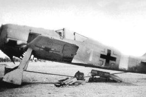 Focke-Wulf Fw.190 A-4 W.Nr 614 Benghazi Ливия 1942 год