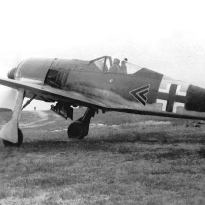 Focke-Wulf Fw.190 A-6 W.Nr 410004 Walter Nowotny l/JG54 осень 1943 года