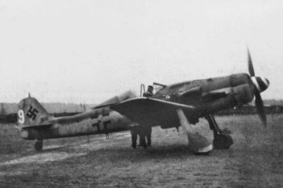 Focke-Wulf Fw.190 D-9 II/JG26 Reinsehlen декабрь 1944 года