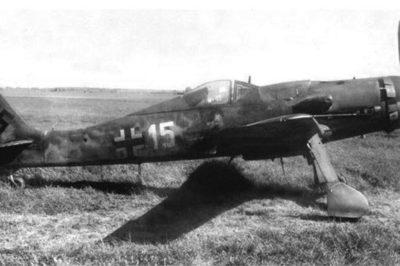 Focke-Wulf Fw.190 D-9 W.Nr 600651 Straubing 1945 год