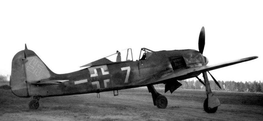 Focke-Wulf Fw.190 A-6 W.Nr 531056 4./JG54 Финляндия лето 1944 года