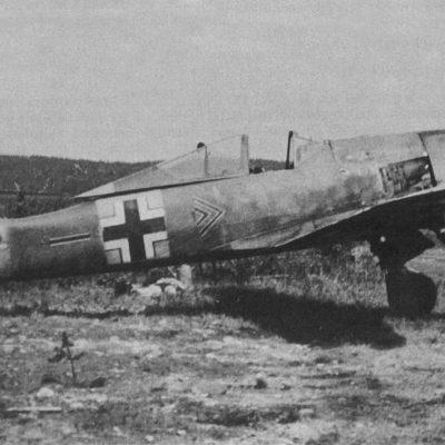 Focke-Wulf Fw.190 A-6 W.Nr 550528 Erich Rudorffer II/JG54 Immola лето 1944 года