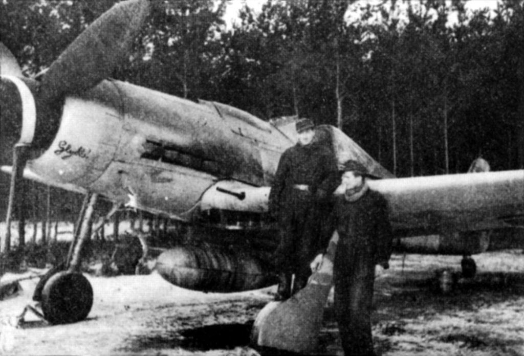 Focke-Wulf Fw.190 D-9 JG301 Welzow январь 1945 года