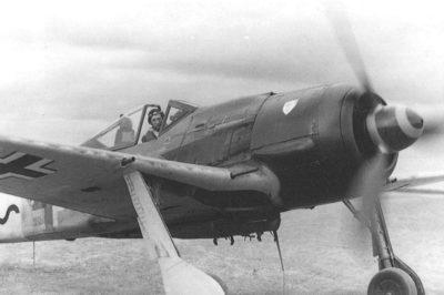 "Focke-Wulf Fw.190 A-8/R8 ""Sturmbock"" Uffz. Willi Maximowitz 11.(Sturm)/JG3 Dreux Франция июнь 1944 года"