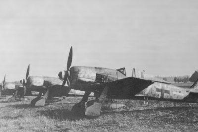 Focke-Wulf Fw.190 A-8/R2 W.Nr 681365 II/JG300 1944 год