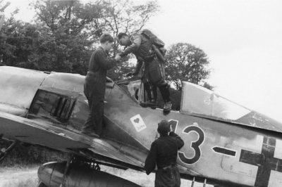 """Focke-Wulf Fw.190 A-8 Josef """"Pips"""" Priller JG26 Франция июнь 1944 года"""