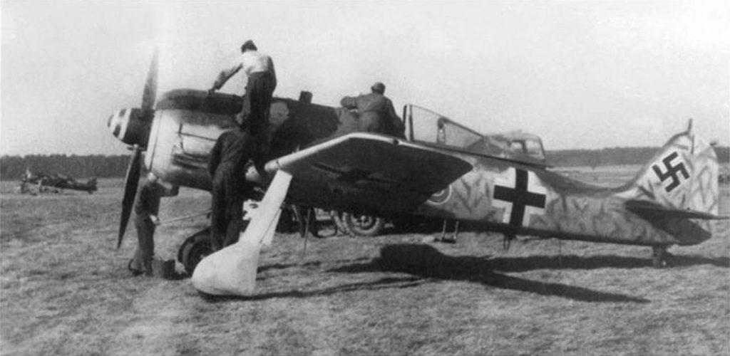 Focke-Wulf Fw.190 A-8 JG110 Altenburg осень 1944 года