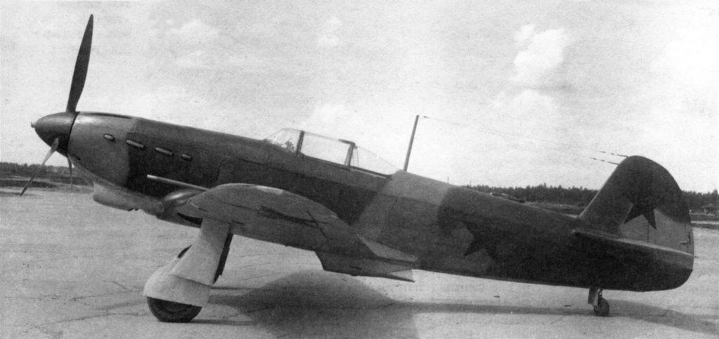 Як-1 №3560 прототип Як-1б 1942 год