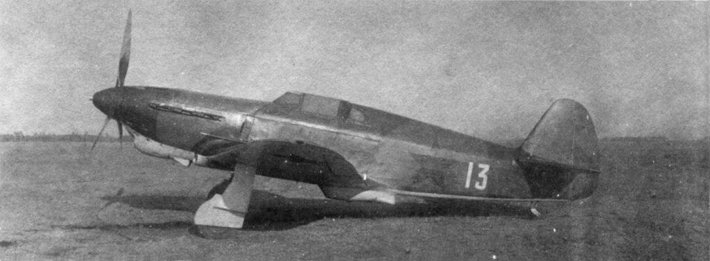 Як-1 №0868 с улучшенной аэродинамикой по рекомендации ЦАГИ в 1942 году