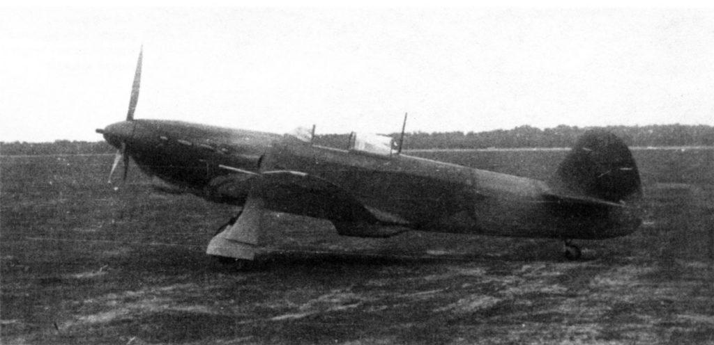 Як-1 №1047 без пулеметов и улучшенным обзором, 1942 год