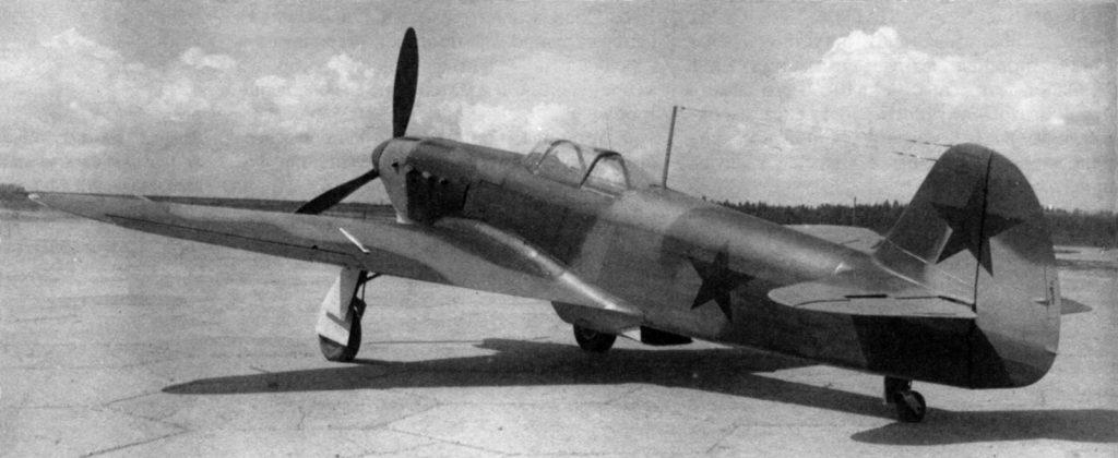 Як-1 №3560 с улучшенным обзором, прототип Як-1б, 1942 год