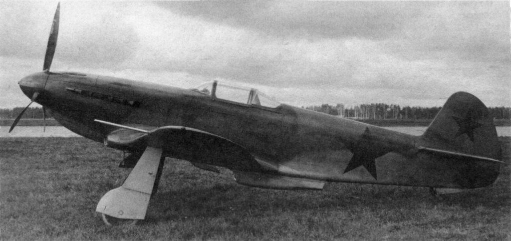 "Як-1М ""Москит"" дублер на госиспытаниях"