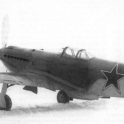 Як-9У ВК-107А первых серий
