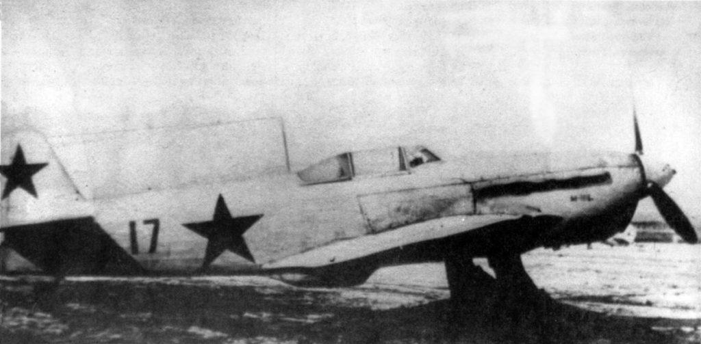Як-1б №17122 с мотором М-106 на госиспытаниях