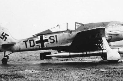 Focke-Wulf Fw.190 A-5/U14 W.Nr 0871 TD+SI с торпедой LFT5b