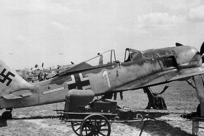 "Focke Wulf Fw.190 A-5 W.Nr 1197 Otto ""Stotto"" Stammberger 4./JG26 начало 1943 года"