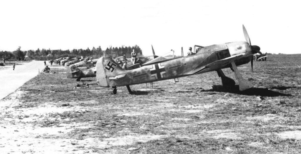 Focke-Wulf Fw.190 A-5 Stab./JG2 весна 1943 года