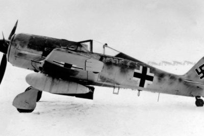 Focke-Wulf Fw.190 A-5/U8 прототип Fw.109 G