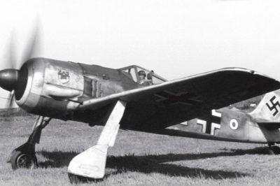 Focke-Wulf Fw.190 A-3 Johannes Ratenow 10./JG1 Deelen Нидерланды лето 1942 года