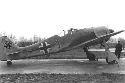 Focke-Wulf Fw.190 A-1 W.Nr 033 5./JG26 Moorsele 1941 год
